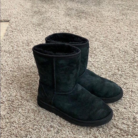 UGG Shoes   Size 6 Womens Black Uggs
